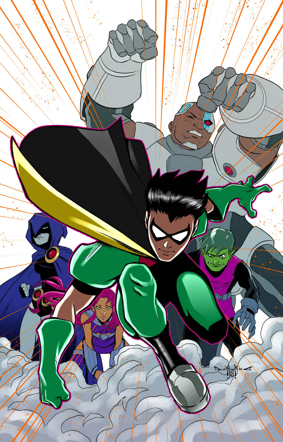 pasquale-qualano-portfolio-covers-Dana-Kids-Teen-Titans-Go-Color---