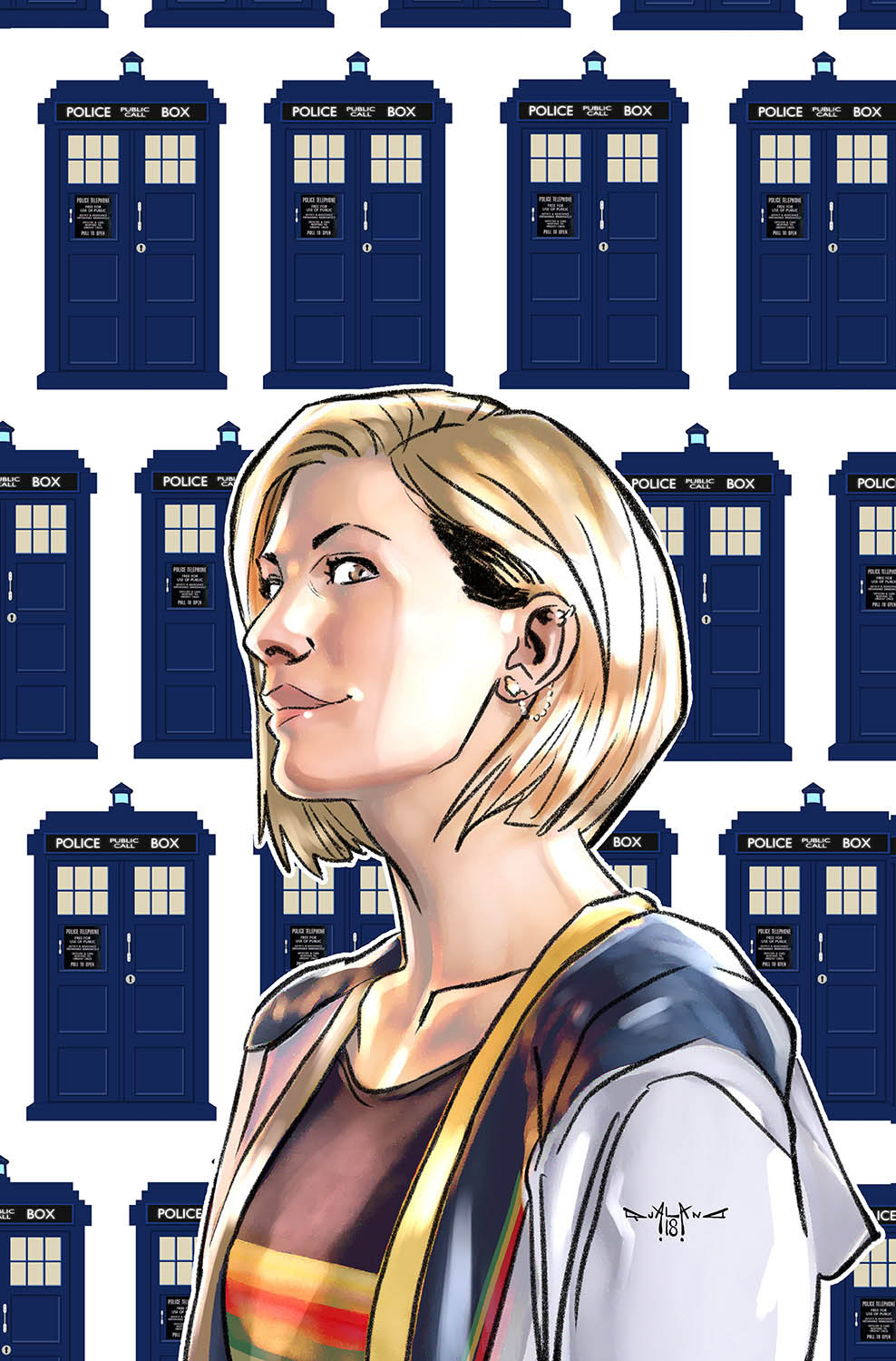 pasquale-qualano-portfolio-covers-Doctor-Who-13th-Doctor-Color---