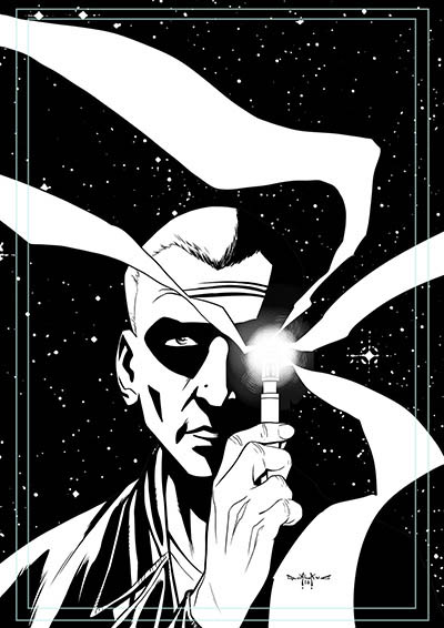 pasquale-qualano-portfolio-covers-Doctor-Who-9th-Doctor-#8-Inks---