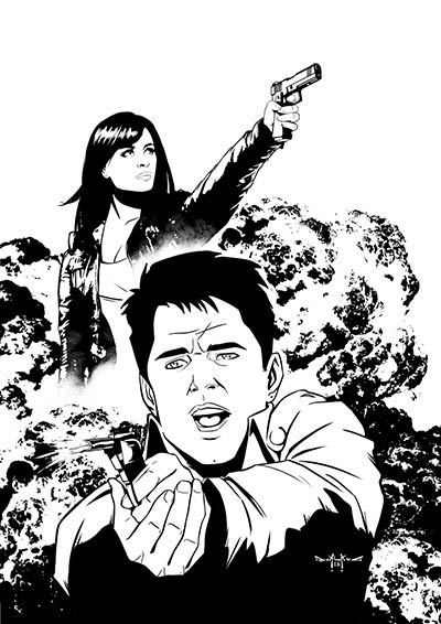 pasquale-qualano-portfolio-covers-Doctor-Who-Torchwood-#2-Inks---