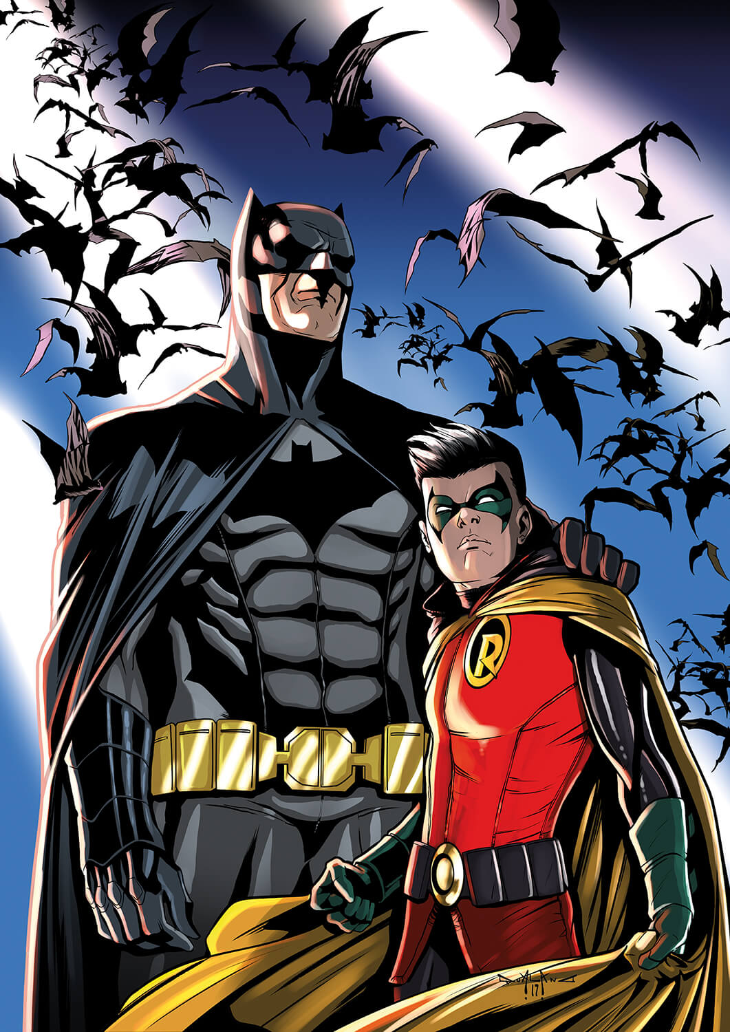 pasquale-qualano-portfolio-covers-Batman-Il-Cavaliere-Oscuro-#-50-Color-Cover---