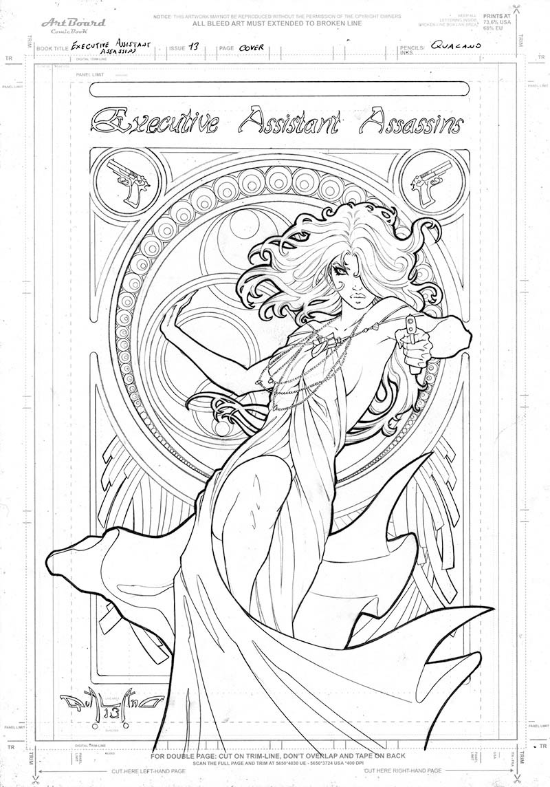 pasquale-qualano-portfolio-covers-Executive-Assistant-Assassin-Art-nouveau-#13-Layout---