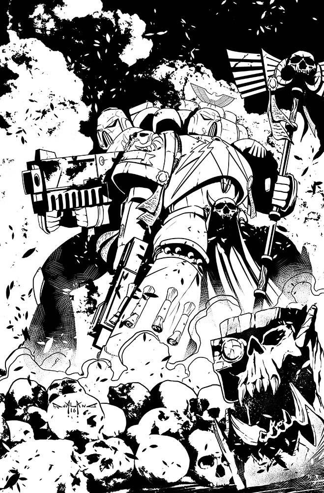 pasquale-qualano-portfolio-covers-Warhammer-40k-Dawn-Of-War-#1---