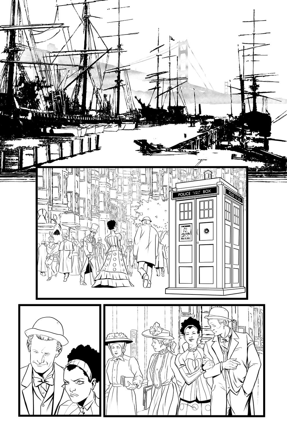 pasquale-qualano-portfolio-interiors-Doctor-Who-11th-Doctor-The-Steampunk-Conundrum-Page-02---