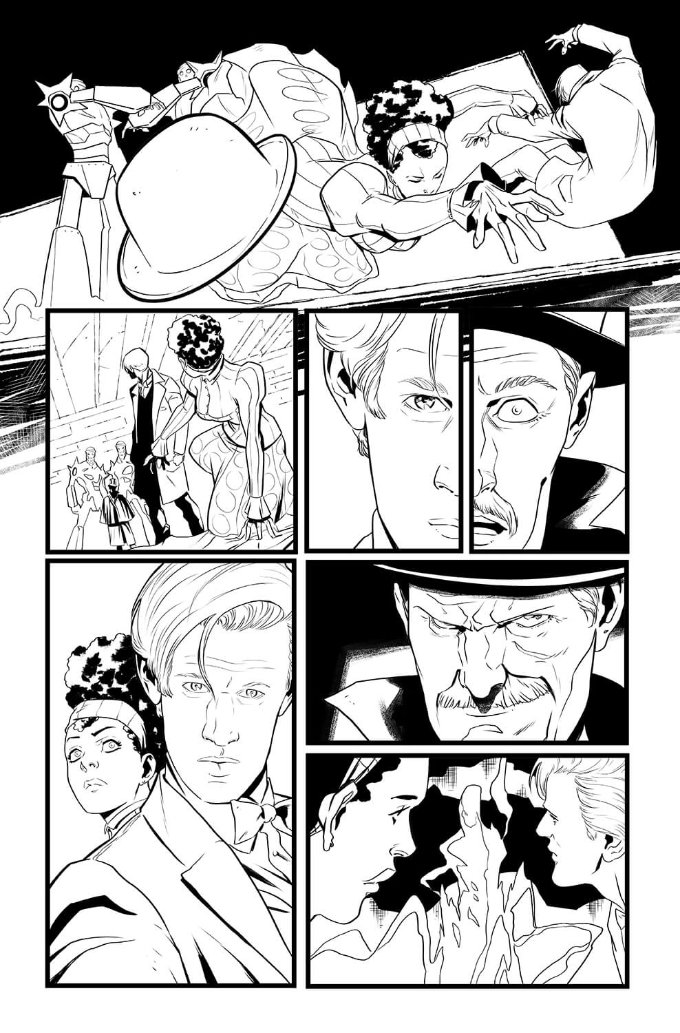 pasquale-qualano-portfolio-interiors-Doctor-Who-11th-Doctor-The-Steampunk-Conundrum-Page-13---