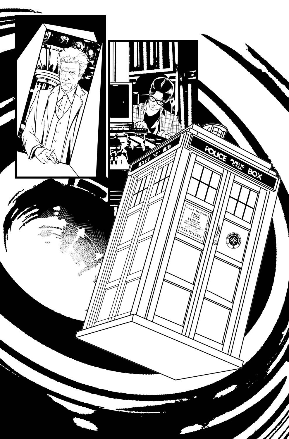 pasquale-qualano-portfolio-interiors-Doctor-Who-12th-Doctor-Ghost-Stories-#3-Page-#10---