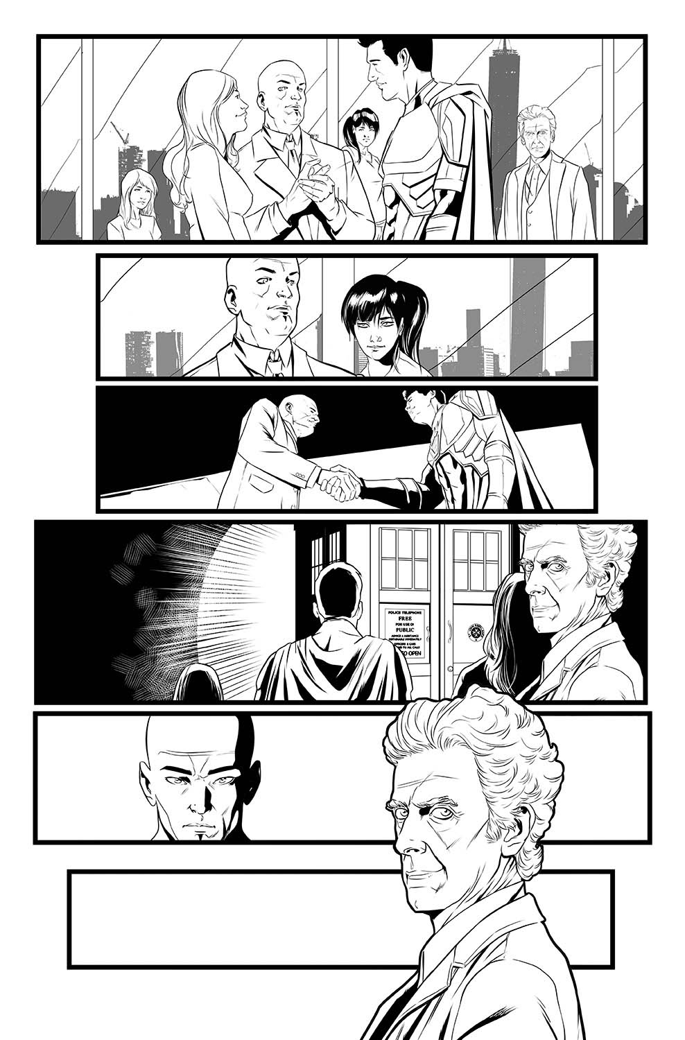 pasquale-qualano-portfolio-interiors-Doctor-Who-12th-Doctor-Ghost-Stories-#3-Page-#9---